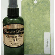 Tattered Angels - Glimmer Mist Spray - 2 Ounce Bottle - Winter and Christmas Limited Editions -  Mistletoe