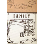 Tattered Angels - Regal Collection - Bingo Boards and Calling Cards - Family