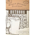 Tattered Angels - Outdoor Collection - Bingo Boards and Calling Cards