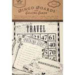 Tattered Angels - Travel Collection - Bingo Boards and Calling Cards