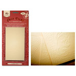 Tattered Angels - Regal Collection - Glimmer Chips - 4 x 7 Embossed Chip Tiles, CLEARANCE