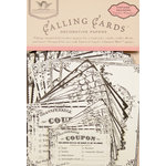 Tattered Angels - Timeless Romance Collection - Decorative Papers - Calling Cards