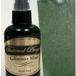 Tattered Angels - Glimmer Mist Spray - 2 Ounce Bottle - Winter Pine, CLEARANCE