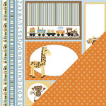 Three Bugs In a Rug - Animal Stackers Collection - 12 x 12 Double Sided Paper - Animal Cut Outs