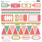 Three Bugs In a Rug - Ellie Collection - Die Cut Shapes