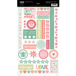 Three Bugs In a Rug - Ellie Collection - Cardstock Stickers - Chit Chat