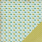 Three Bugs In a Rug - Frisky Collection - 12 x 12 Double Sided Paper - Guppy