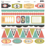 Three Bugs In a Rug - Frisky Collection - Die Cut Shapes