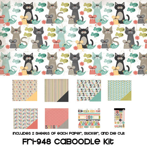 Three Bugs In a Rug - Frisky Collection - Caboodle Kit