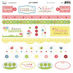 Three Bugs In a Rug - Lazy Summer Collection - Die Cut Shapes, CLEARANCE