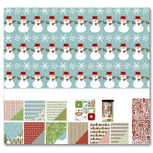 Three Bugs In a Rug - Let It Snow Collection - Christmas - Caboodle Kit