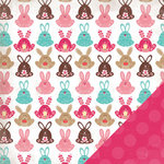 Three Bugs In a Rug - One Fine Day Collection - 12 x 12 Double Sided Paper - Woodsy
