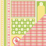 Three Bugs In a Rug - Savannah Collection - 12 x 12 Double Sided Paper - Magical Cut Outs, CLEARANCE