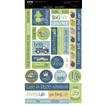 Three Bugs In a Rug - Snips and Snails Collection - Cardstock Stickers, CLEARANCE