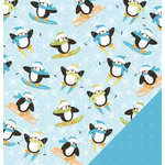 Three Bugs In a Rug - Snow Much Fun Collection - 12 x 12 Double Sided Paper - On the Slopes