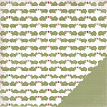 Three Bugs In a Rug - Under the Sea Collection - 12 x 12 Double Sided Paper - Fred