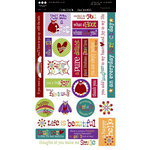Three Bugs In a Rug - What a Hoot Collection - Cardstock Stickers, CLEARANCE