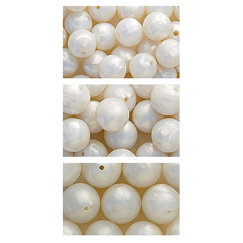 The Beadery - Selections Collection - Jewelry Bead Ensemble - Pearls - White