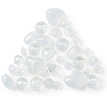 The Beadery - Selections Collection - Jewelry Bead Ensemble - Spacer Beads Assortment - Ice