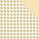 Teresa Collins - Glam Factor Collection - 12 x 12 Double Sided Paper - Gold Dots