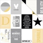 Teresa Collins - Glam Factor Collection - 12 x 12 Double Sided Paper - Cards