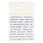 Teresa Collins - Cardstock Stickers - Get It Done With Foil Accents