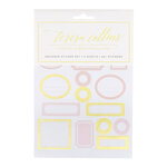Teresa Collins - Cardstock Stickers - Labels with Foil Accents