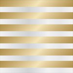 Teresa Collins - Signature Essentials Collection - 12 x 12 Clear Paper - Gold Cabana