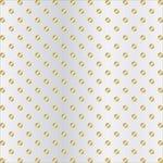 Teresa Collins - Signature Essentials Collection - 12 x 12 Clear Paper - Gold Dots