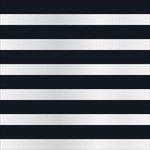 Teresa Collins - Signature Essentials Collection - 12 x 12 Clear Paper - Black Cabana
