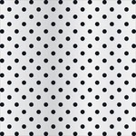 Teresa Collins - Signature Essentials Collection - 12 x 12 Clear Paper - Black Dots