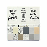 Teresa Collins - Stationery Studio Collection - 12 x 12 Collection Pack