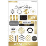 Teresa Collins - Wanderlust Collection - Chipboard Buttons