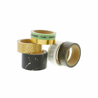 Teresa Collins - Washi Tape - Love with Foil Accents