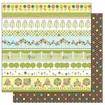 TaDa Creative Studios - Abode a La Mode Collection - 12 x 12 Double Sided Paper - Alfresco, CLEARANCE