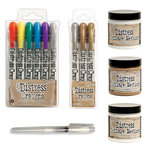 Ranger Ink - Tim Holtz - Distress Crayons and Papercrafting - Creativity Kit