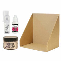Tim Holtz - Glitter Duster Starter Kit - Distress Glitter Dust - Vintage Platinum