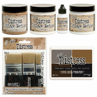 Ranger Ink - Tim Holtz - Distress Collage Media - Creativity Kit