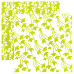 Tinkering Ink - Beau Jardin Collection - 12 x 12 Double Sided Paper - Meadow