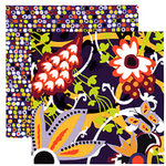 Tinkering Ink - Beau Jardin Collection - 12 x 12 Double Sided Paper - Jardin