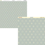 Tinkering Ink - Yuletide Holiday Collection - 12 x 12 Double Sided Paper - Snowflake Waltz, CLEARANCE