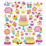 Sticker King - Clear Stickers with Glitter Accents - Your Birthday Sparkles