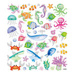 Sticker King - Cardstock Stickers with Glitter Accents - Undersea Life