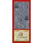 Sticker King - Cardstock Stickers - Christmas Trees in Silver