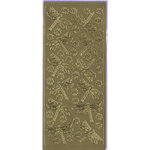 Sticker King - Cardstock Stickers - Dragon Flies in Gold