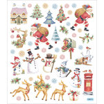 Sticker King - Cardstock Stickers - Christmas - Santa at Work