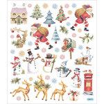 Sticker King - Cardstock Stickers - Christmas - Santa at Work