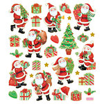 Sticker King - Clear Stickers - Christmas - Santas Job