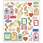 Sticker King - Clear Stickers - Religious Symbols