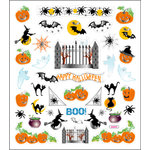 Sticker King - Clear Stickers - Halloween - Boo